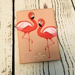 ♠️ Flamingo pool at the party passport cover